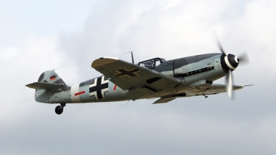 Photo ID 161612 by Stuart Thurtle. Private Messerschmitt Stiftung Messerschmitt Bf 109G 4, D FWME