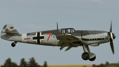 Photo ID 161690 by rinze de vries. Private Messerschmitt Stiftung Messerschmitt Bf 109G 4, D FWME