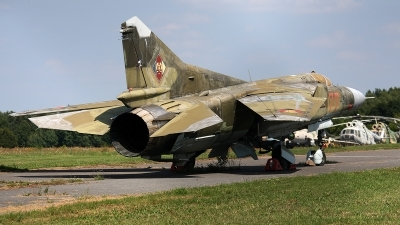 Photo ID 161733 by Jan Eenling. East Germany Air Force Mikoyan Gurevich MiG 23MF, 577