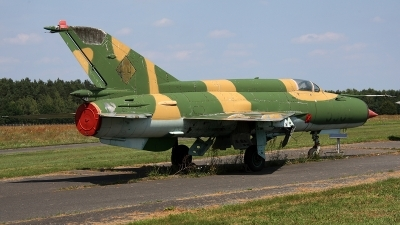 Photo ID 161738 by Jan Eenling. East Germany Air Force Mikoyan Gurevich MiG 21M, 596