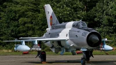 Photo ID 20028 by Johnny Cuppens. Romania Air Force Mikoyan Gurevich MiG 21MF 75 Lancer C, 6305
