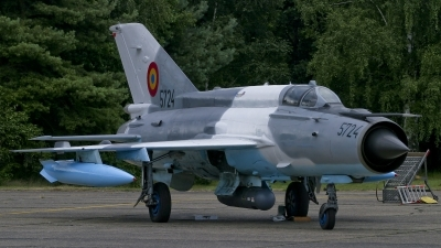 Photo ID 20057 by Johnny Cuppens. Romania Air Force Mikoyan Gurevich MiG 21MF 75 Lancer C, 5724