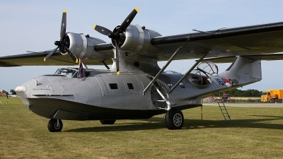 Photo ID 161933 by Jan Eenling. Private Royal Netherlands Air Force Historical Flight Consolidated PBY 5A Catalina, PH PBY