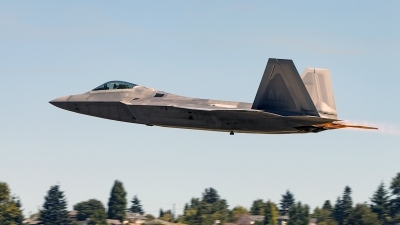 Photo ID 161900 by Aaron C. Rhodes. USA Air Force Lockheed Martin F 22A Raptor, 07 4137