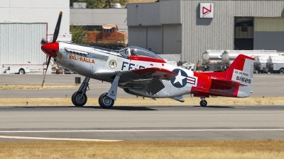 Photo ID 163534 by Aaron C. Rhodes. Private Heritage Flight Museum North American P 51D Mustang, N151AF