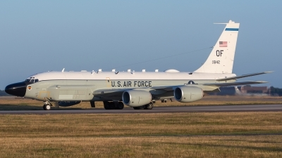 Photo ID 161908 by Ashley Wallace. USA Air Force Boeing RC 135V Rivet Joint 739 445B, 64 14842