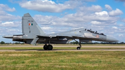Photo ID 161909 by Ashley Wallace. India Air Force Sukhoi Su 30MKI Flanker, SB138