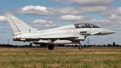 Photo ID 162028 by Carl Brent. UK Air Force Eurofighter Typhoon T3, ZJ805