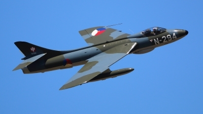 Photo ID 162008 by Ludwig Isch. Private DHHF Dutch Hawker Hunter Foundation Hawker Hunter F6A, G KAXF
