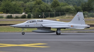 Photo ID 162015 by Gennaro Montagna. Spain Air Force Northrop SF 5M Freedom Fighter, AE 9 27