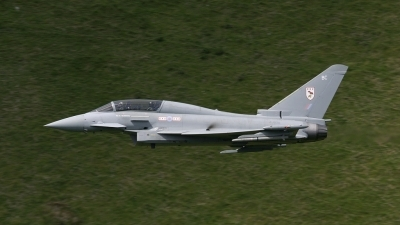 Photo ID 20054 by Barry Swann. UK Air Force Eurofighter EF 2000 Typhoon T1, ZJ800