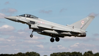 Photo ID 162072 by Carl Brent. UK Air Force Eurofighter Typhoon FGR4, ZJ917