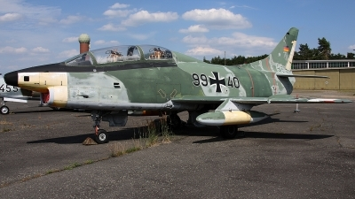Photo ID 162060 by Jan Eenling. Germany Air Force Fiat G 91T3, 99 40