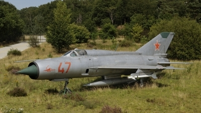 Photo ID 162140 by rinze de vries. Russia Air Force Mikoyan Gurevich MiG 21PFM, 47 RED