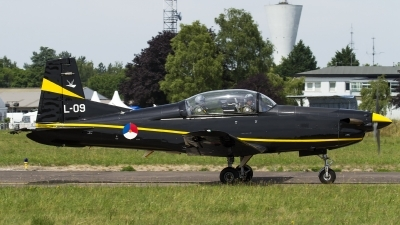 Photo ID 162221 by Thomas Ziegler - Aviation-Media. Netherlands Air Force Pilatus PC 7 Turbo Trainer, L 09