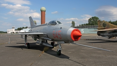 Photo ID 162253 by Jan Eenling. East Germany Air Force Mikoyan Gurevich MiG 21F 13, 645