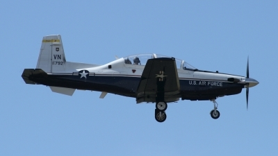 Photo ID 20074 by Jaysen F. Snow - Midwest Tail Chasers. USA Air Force Raytheon T 6A Texan II, 05 3792