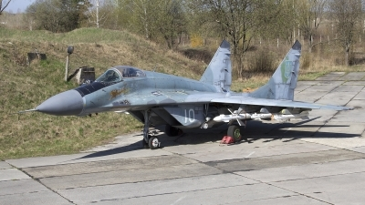 Photo ID 162171 by Chris Lofting. Ukraine Air Force Mikoyan Gurevich MiG 29 9 13, 10 WHITE