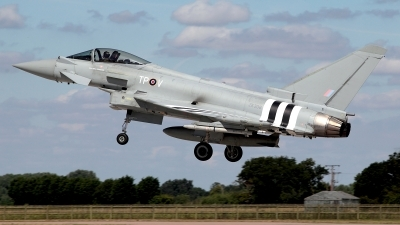 Photo ID 162189 by Carl Brent. UK Air Force Eurofighter Typhoon FGR4, ZK308