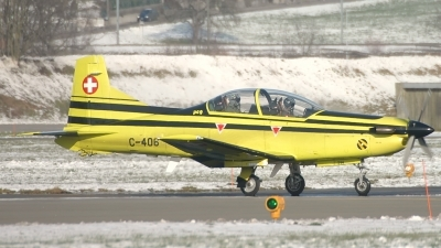 Photo ID 162404 by Sven Zimmermann. Switzerland Air Force Pilatus PC 9A, C 406