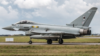 Photo ID 162293 by Alan Kenny. UK Air Force Eurofighter Typhoon FGR4, ZJ910