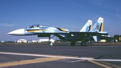 Photo ID 162263 by Tom Gibbons. Ukraine Air Force Sukhoi Su 27S, 48