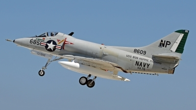 Photo ID 162481 by David F. Brown. Private Warbirds Heritage Foundation Douglas A 4C Skyhawk, N49WH