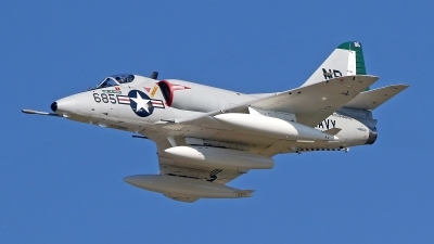 Photo ID 163412 by David F. Brown. Private Warbirds Heritage Foundation Douglas A 4C Skyhawk, N49WH