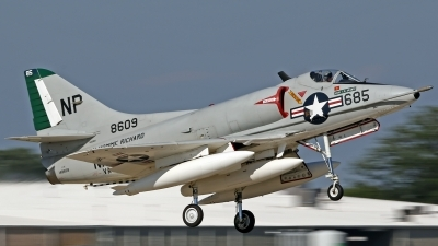 Photo ID 162642 by David F. Brown. Private Warbirds Heritage Foundation Douglas A 4C Skyhawk, N49WH