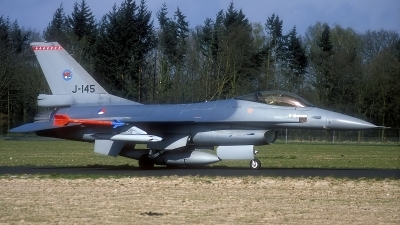 Photo ID 162557 by Rainer Mueller. Netherlands Air Force General Dynamics F 16A Fighting Falcon, J 145