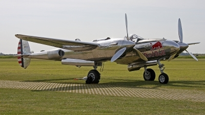Photo ID 162637 by Jan Eenling. Private Red Bull Lockheed P 38L Lightning, N25Y