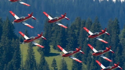 Photo ID 162599 by Sven Zimmermann. Switzerland Air Force Pilatus NCPC 7 Turbo Trainer, A 934
