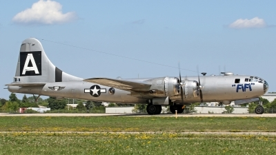 Photo ID 163177 by David F. Brown. Private Commemorative Air Force Boeing B 29A Superfortress, NX529B
