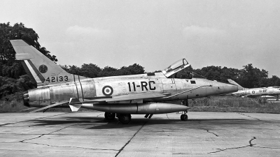 Photo ID 20127 by Eric Tammer. France Air Force North American F 100D Super Sabre, 42133