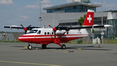 Photo ID 162982 by Günther Feniuk. Switzerland Air Force De Havilland Canada DHC 6 300 Twin Otter, T 741