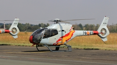 Photo ID 163114 by Milos Ruza. Spain Air Force Eurocopter EC 120B Colibri, HE 25 4