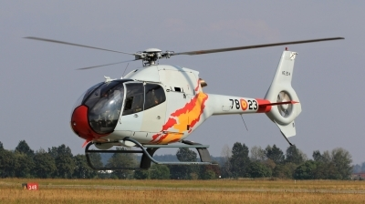Photo ID 163139 by Milos Ruza. Spain Air Force Eurocopter EC 120B Colibri, HE 25 4