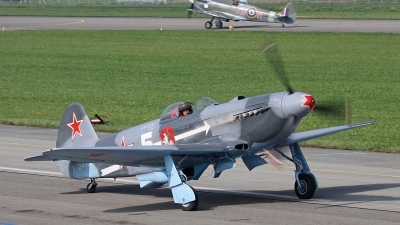 Photo ID 163061 by Andreas Weber. Private Private Yakovlev Yak 3U, D FYGJ