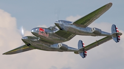 Photo ID 163067 by Andreas Weber. Private Red Bull Lockheed P 38L Lightning, N25Y