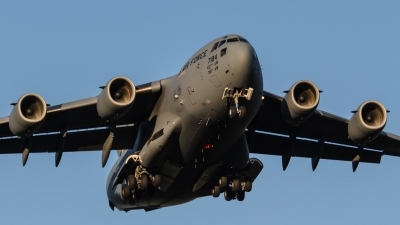 Photo ID 163193 by Luca Neggers. USA Air Force Boeing C 17A Globemaster III, 07 7184