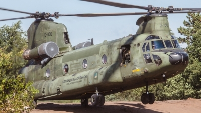 Photo ID 163194 by Luca Neggers. Netherlands Air Force Boeing Vertol CH 47D Chinook, D 106