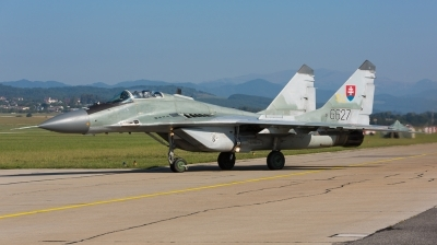 Photo ID 163314 by Andreas Zeitler - Flying-Wings. Slovakia Air Force Mikoyan Gurevich MiG 29AS, 6627