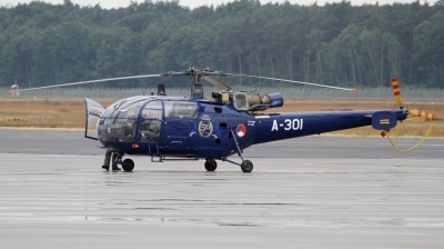 Photo ID 163324 by Mirko Krogmeier. Netherlands Air Force Aerospatiale SA 316B Alouette III, A 301