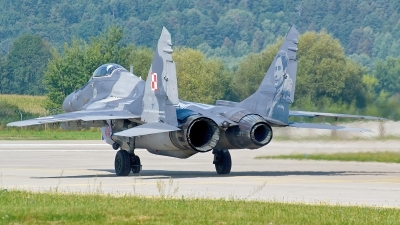 Photo ID 163361 by Alexandru Chirila. Poland Air Force Mikoyan Gurevich MiG 29A 9 12A, 114