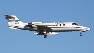Photo ID 163405 by Mario Boeren. USA Air Force Learjet C 21A, 84 0126
