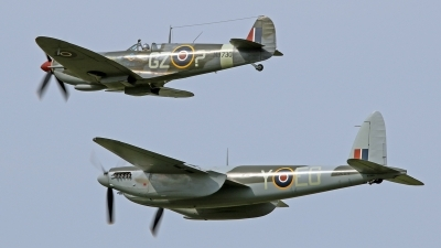 Photo ID 163439 by David F. Brown. Private Fighter Factory Supermarine 361 Spitfire HF9e, N730MJ