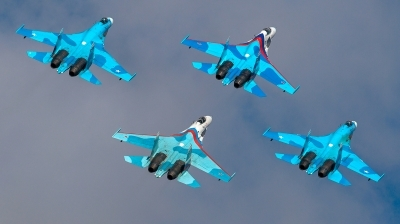 Photo ID 163642 by Sergey Koptsev. Russia Air Force Sukhoi Su 27SM, RF 92211