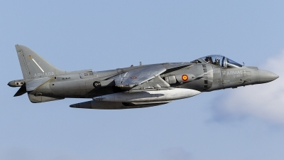 Photo ID 163676 by Jorge Guerra. Spain Navy McDonnell Douglas EAV 8B Harrier II, VA 1B 27