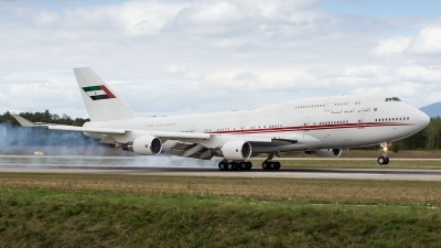 Photo ID 163771 by Daniel Fuchs. United Arab Emirates Government Boeing 747 422, A6 HRM