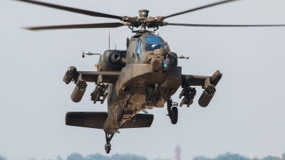 Photo ID 164195 by Jimmy van Drunen. Netherlands Air Force Boeing AH 64DN Apache Longbow, Q 05